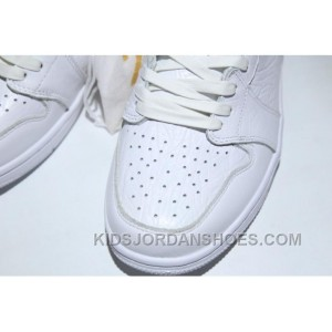 AIR Jordan 1 Air Retro Low Ns 872782-100 All White Lastest CMACc6