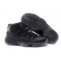 Charcoal Black And Gold Jordan 11 Men Basketball Shoes Free Shipping Online PnB7Kr
