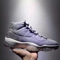 Air Jordan 11 Space Jam Grey Suede Limited Edition Authentic BQ2NC