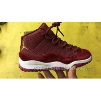 Air Jordan 11 Kids Red Velvet Free Shipping Ksehd