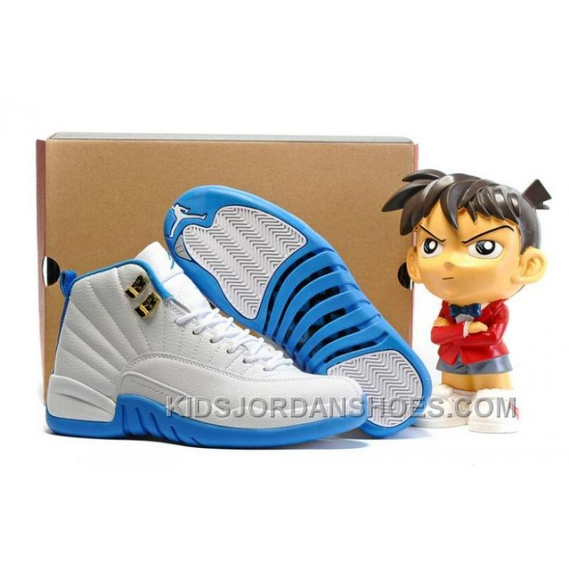 3911c6da44d79f 2016 New Air Jordans 12 Melo University Blue Online Sale 35GxY ...