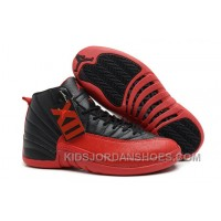 "Air Jordans 12 Retro ""Flu Game"" Black/Varsity Red For Sale HBzpz"