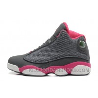 Womens Air Jordan 13 GS Retro Cool Grey/Fusion Pink-White Sale Online HT7YTf
