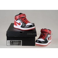 Nike Air Jordan 1 Kids White Black Red
