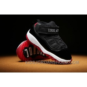 size 40 5f6ad 27063 Air Jordan 11 Kids Black Red Toddler Hc4yY