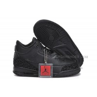 Nike Air Jordan 3 Kids All Black