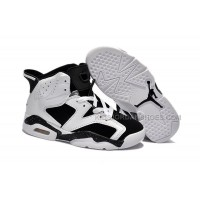 Nike Air Jordan 6 Kids White Black