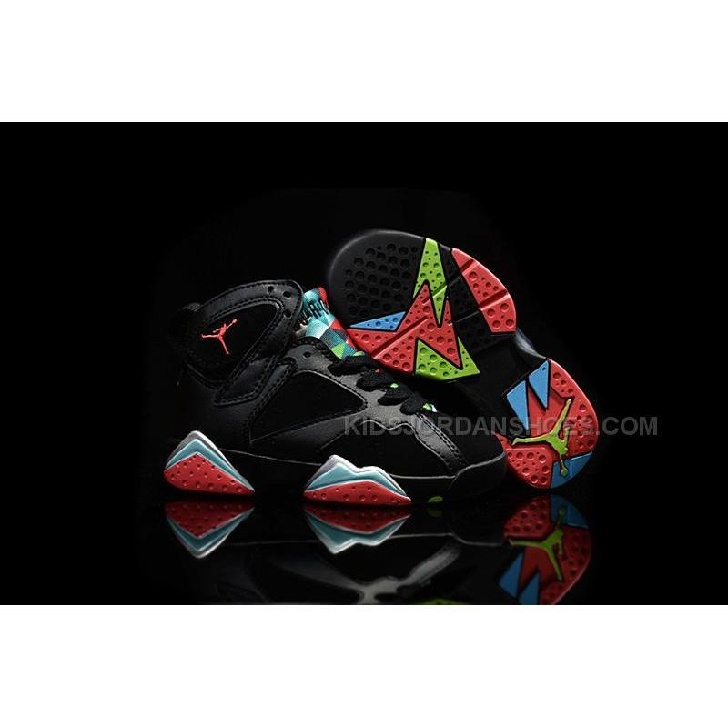 premium selection 736f4 52adb USD  79.00. Nike Air Jordan 7 VII Retro 30th Barcelona Nights Black Blue  Graphite Retro Infrared 23 Kids ...