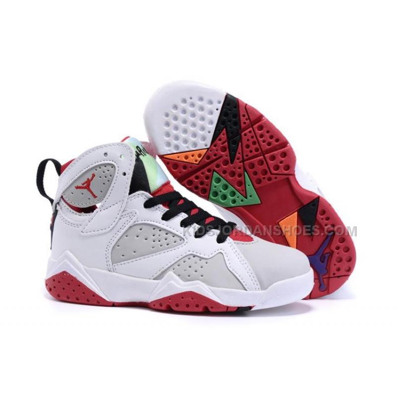 Kids Air Jordan 7 Retro Hare ...