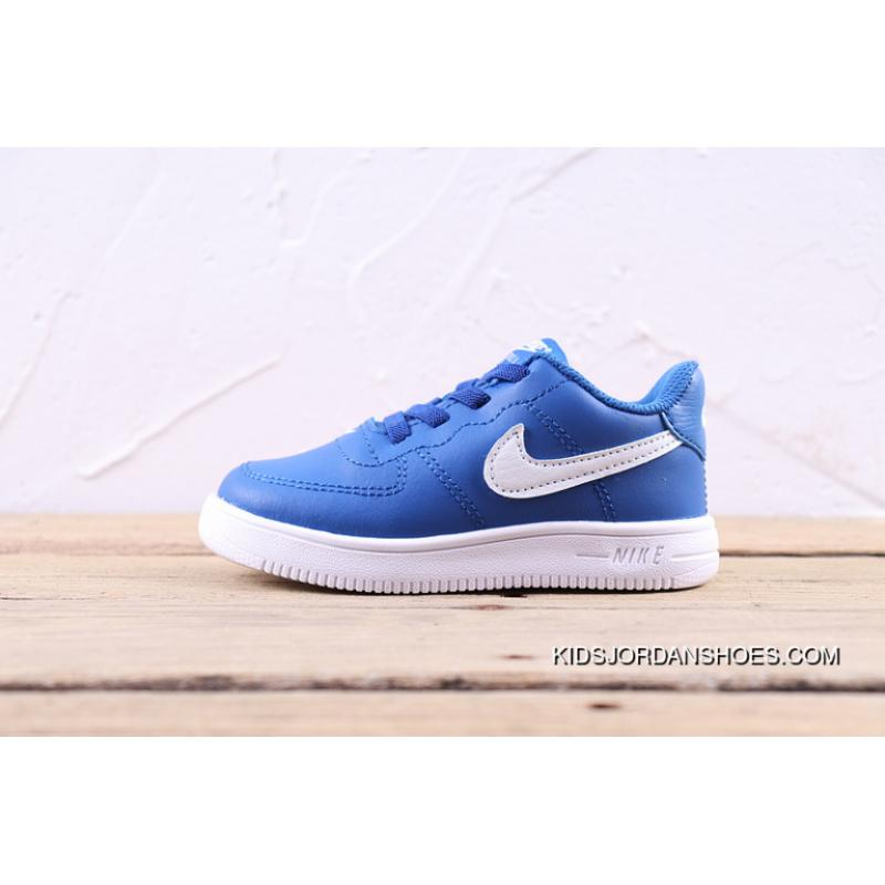 low priced 957be 0a61b ... Top Deals Nike Air Force One 1 Kids Shoes AF1 Kids Shoes Blue ...