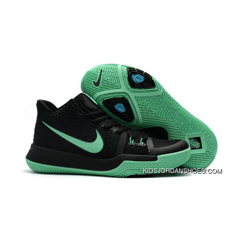 kyrie shoes black