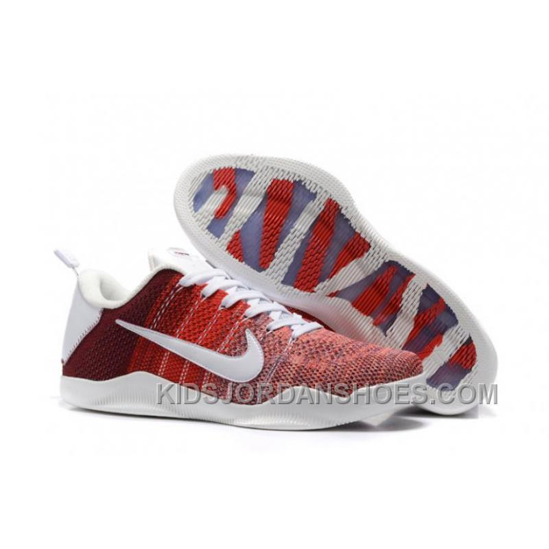 034a24ef5e62 Men Nike Kobe 11 Elite Low 4KB Red Horse 396 Cheap To Buy DbxPC ...