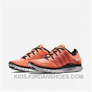 NIKE 5.0 Flyknit Orange Black Women/men 36-44 Lastest J3yhwnj