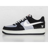 NIKE AIR FORCE 1 Black Superman Men sneaker