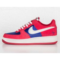 NIKE AIR FORCE 1 red Superman men sneaker