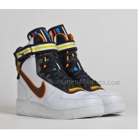 Nike Air Force 1 Givenchy Riccardo Tisci X Nike R.T. Air Hi Boots Rihanna Style Mens White Couples Shoes