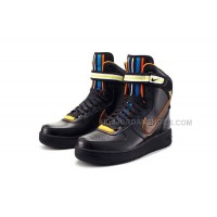Nike Air Force 1 Riccardo Tisci Nike R.T. Air Hi Boots Rihanna Style Mens Black Shoes