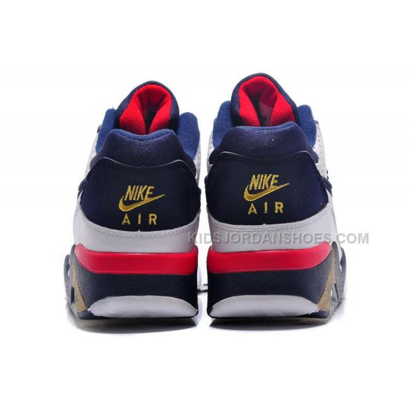 ... Cheap Nike Air Force 180 Mid Charles Barkley White-Midnight Navy-Gold  ...
