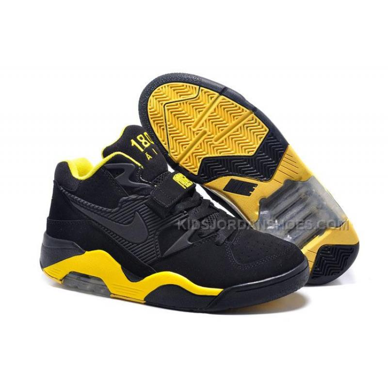 bibliotecario Historiador Incomodidad  Cheap Nike Air Force 180 Mid Charles Barkley Black-Yellow, Price: $108.00 -  Kids Jordan Shoes - Nike Kids Shoes - KidsJordanShoes.com