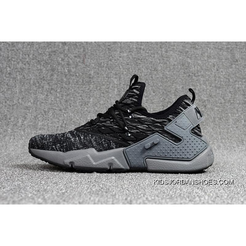 huge discount fa71d 968ef Nike Huarache 6 Generation FLYKNIT Air Max Zoom Air Drift PRM Grey Black  Outlet