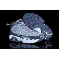 Nike Air Jordan 9 Kids Grey White