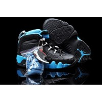 Nike Air Jordan 9 Kids Black Blue