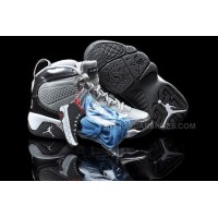 Nike Air Jordan 9 Kids White Cool Grey