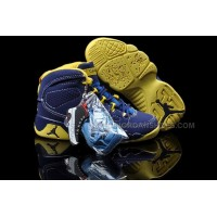 Nike Air Jordan 9 Kids Purple Gold
