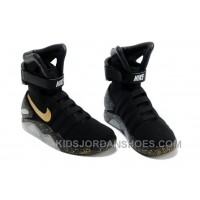Nike Air Mag Back To The Future Limited Edition Shoes Black Gold Online KTCjd