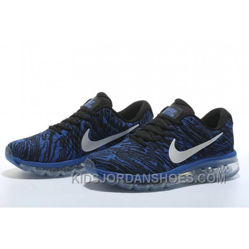 new product 0f7af c708a Authentic Nike Air Max 2017 Print Blue Black Cheap To Buy JjWAMH