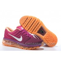 Authentic Nike Air Max 2017 Peach Purple Orange New Release P6dbYpW