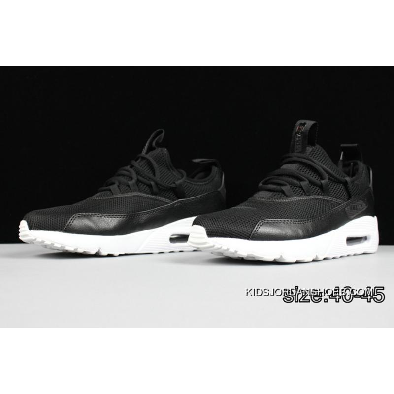 new style 6c1a9 58fca USD  80.65  282.28. All Black White Nike AIR MAX 90 HUARACHE ...