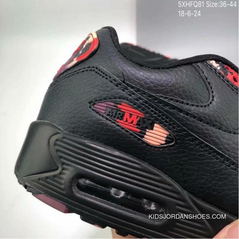 85 Nike AIR MAX 90 Classic Reproduce Cushioning Comfortable Sport Fashion Casual All match Picking 5 Xhfq81 Shoes Size 18 6 24 Online