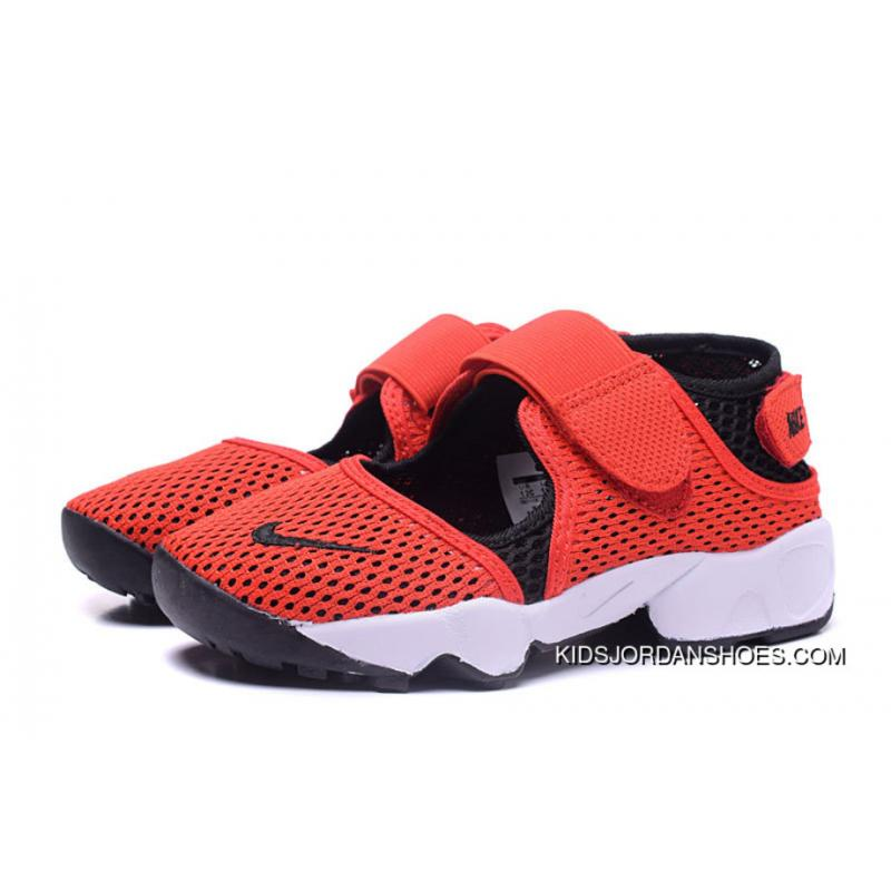 new concept 73ee6 261cf Nike Kids Air Rift Br 2018 Spring Red Youth Free Shipping