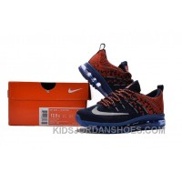 2017 New Kids Nike Flyknit Zoom Air Blue Orange Red Cheap To Buy NQTFW