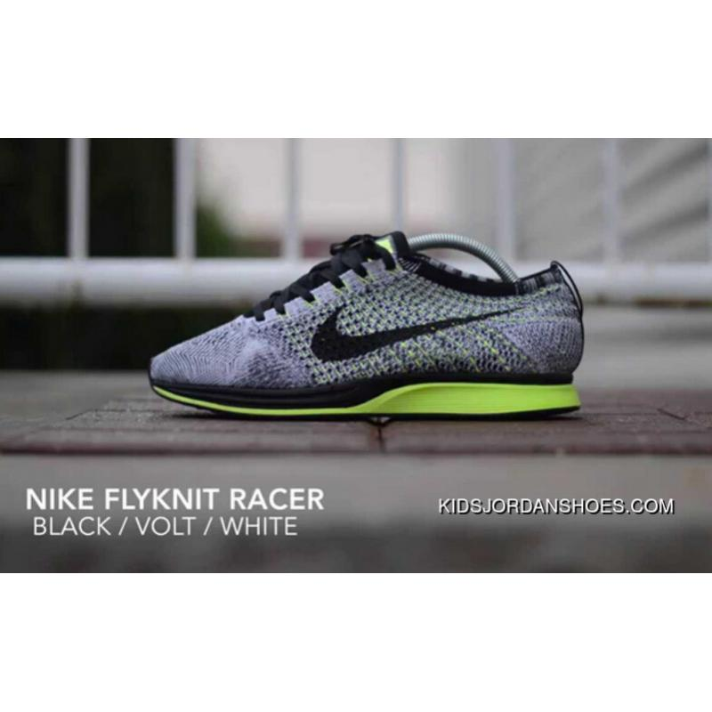 b978012fb3e5 Buy nike flyknit racer volt green and black   up to 74% Discounts