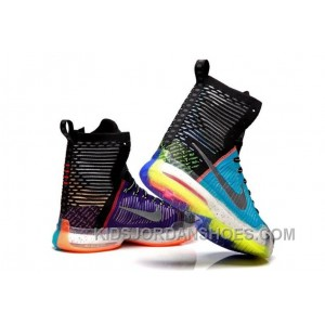 """Nike Kobe 10 Elite High SE """"What The"""" Multi-color/Reflective Silver For Sale Online Authentic JyhM5"""