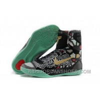 Buy Cheap Nike Kobe 9 High 2015 All Star Black Gold Mens Shoes Copuon Code 2QnYw