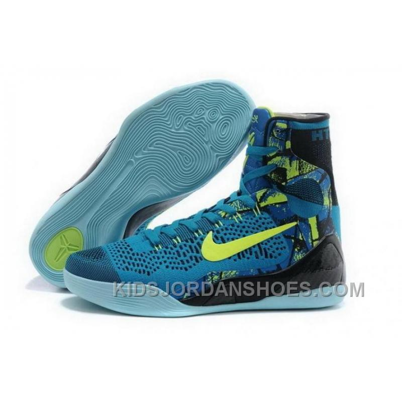 f31e029050b1 USD  99.82  279.50. Buy Cheap Nike Kobe 9 High 2015 Blue Green Mens Shoes  Super Deals KAD3TGY ...