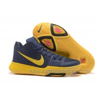 Nike Kyrie 3 Mens BasketBall Shoes Cavs Yellow Discount RZF7z