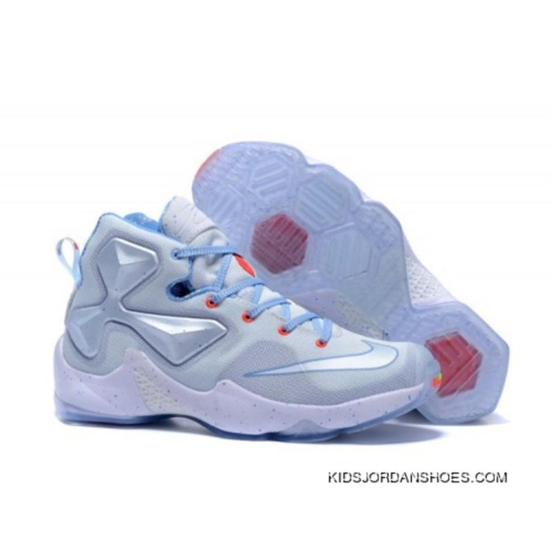 buy online 31c44 67356 Nike LeBron 13 Kids Shoes Christmas Basketball Shoes Discount