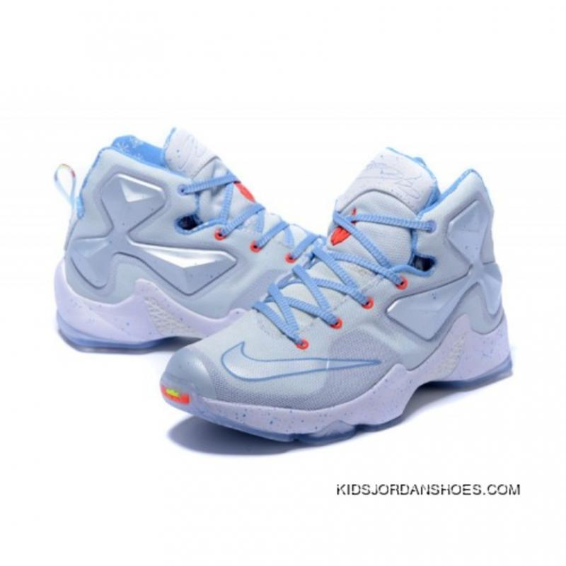 quality design 465d8 f4008 ... Nike LeBron 13 Kids Shoes Christmas Basketball Shoes Discount