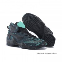 Nike LeBron 13 Kids Shoes Dark Knight Basketball Shoes Cheap To Buy