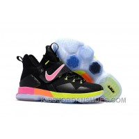 Nike LeBron 14 SBR Black Rainbow Multi Color Top Deals