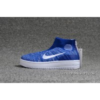 Nike Lunar Force1 Duckb 28-35 Blue New Release
