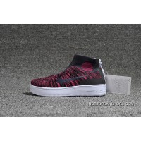 Nike Lunar Force1 Duckb 28-35 Kids Red Free Shipping