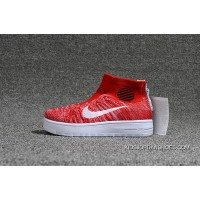 Nike Lunar Force1 Duckb 28-35 Kids Red White New Release