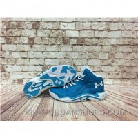 Under Armour Anatomix Spawn 2 Blue White Sneaker New Style HympbJ