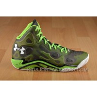 Authentic Under Armour Micro G Anatomix Spawn 2 Green Black White New Release 7SYrke6
