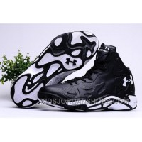 2016 Under Armour Micro G Anatomix Spawn 2 Mens Shoes Black White Sneakers Super Deals XMNcBSw